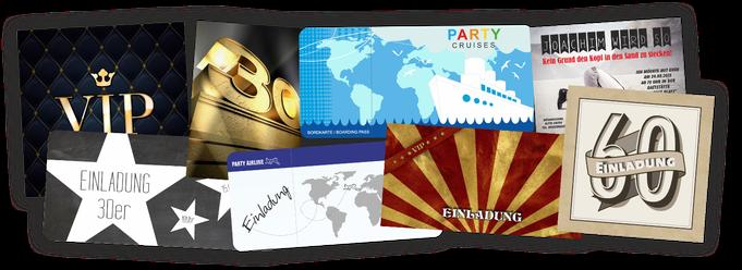 EInladungskarten Einladung zum Geburtstag