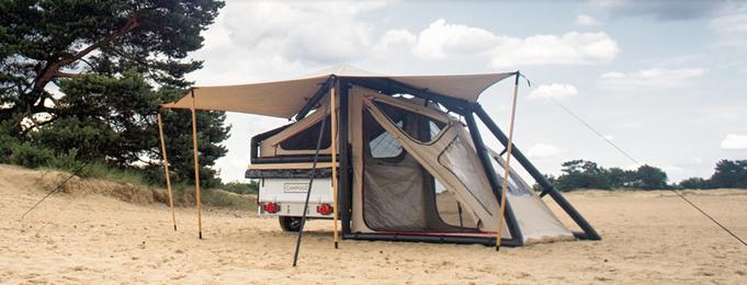 Zeltanhänger campooz
