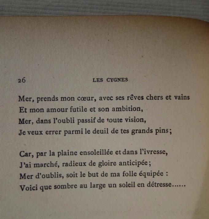 Francis Vielé-Griffin, Les Cygnes, livre rare, édition originale