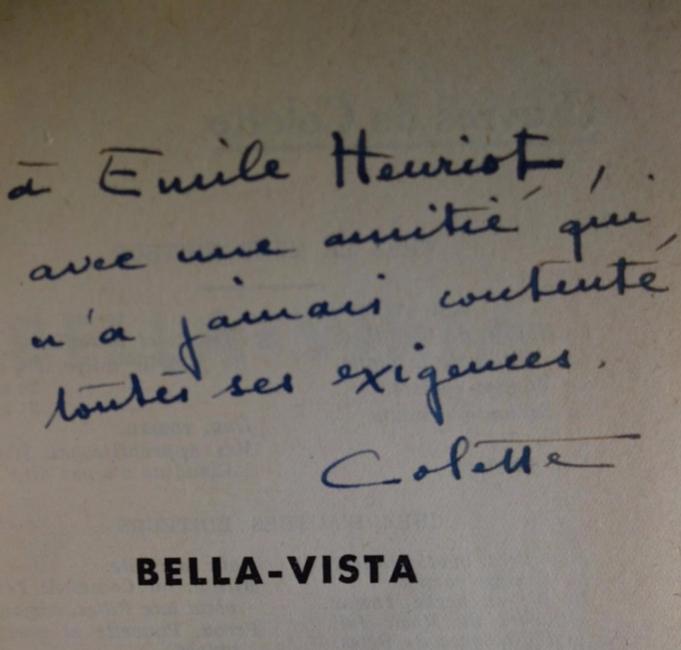 COLETTE, Bella-Vista, édition originale, livre rare, livre ancien