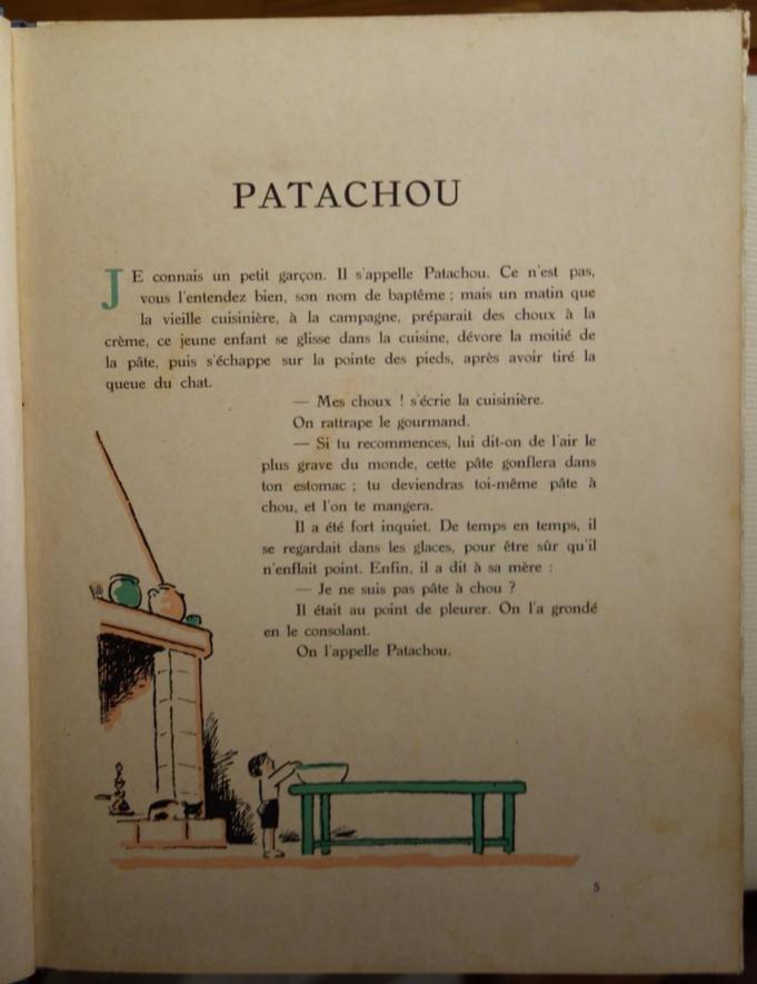 Tristan Derème, Patachou petit garçon, livre rare, édition originale