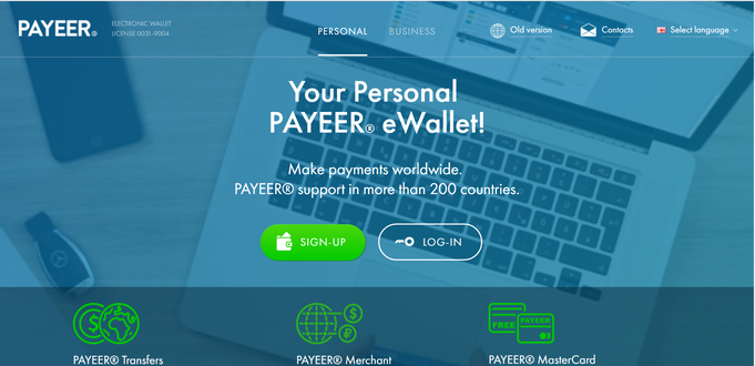 You can send instant electronic transfer to 7.000.000.000 people in the world to e-mail address, or transfer funds to millions of registered Payeer accounts.