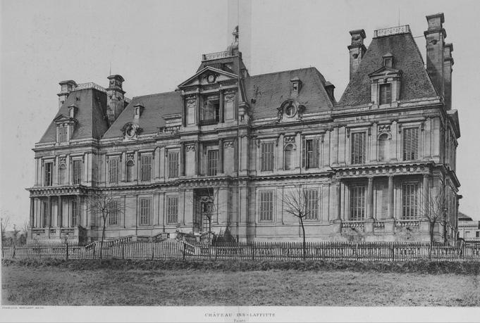 Le château en 1907 juste après son achat par l'état