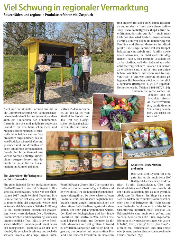 Hof Drittgeest, Heinschenwalde Hipstedt