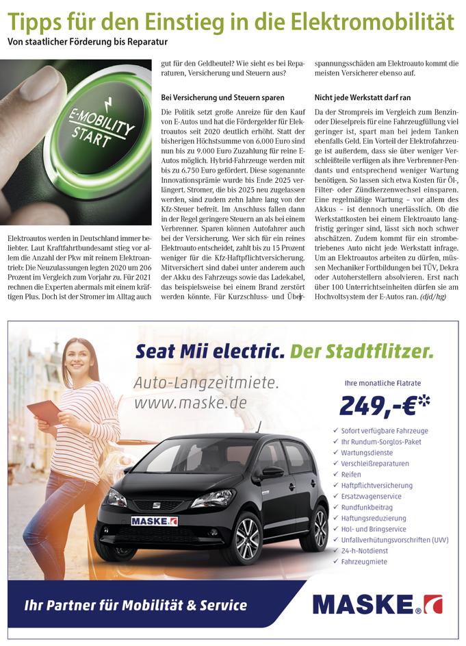 Eletroauto Infos Vorteile und Nachteile