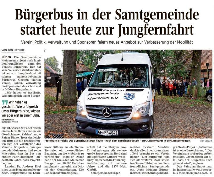 Aller-Zeitung vom 24.10.2017
