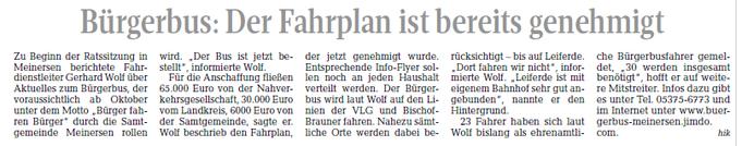 Aller-Zeitung vom 6.5.2017