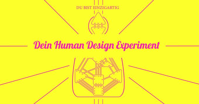 Human Design Online Seminar 31.5.2020