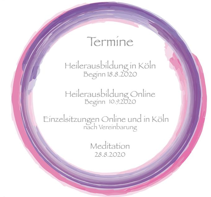 Beginn Online Heilerausbildung 10.9.2020