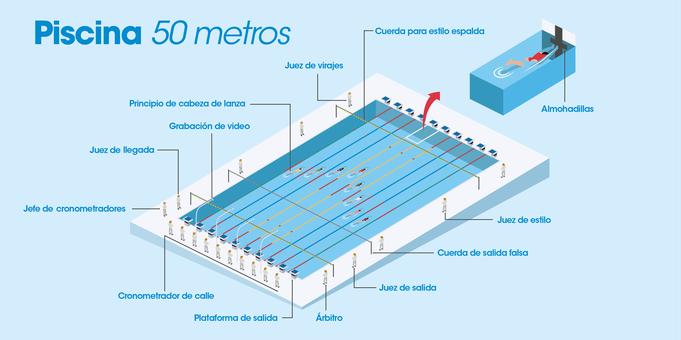 Piscina ol mpica chilecubica for Medidas de una piscina para una casa