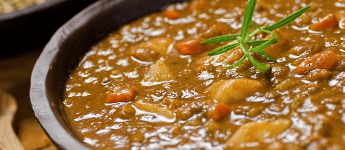 Zuppa di legumi misti: ricetta