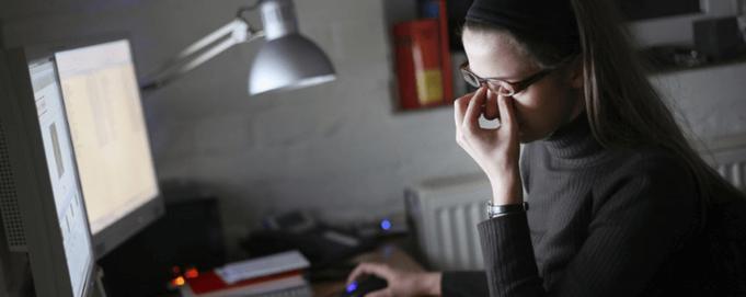 Come proteggere gli occhi e la vista davanti al computer