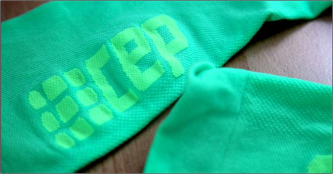 Die 'CEP Ultra Light Socks' in der Nahaufnahme.