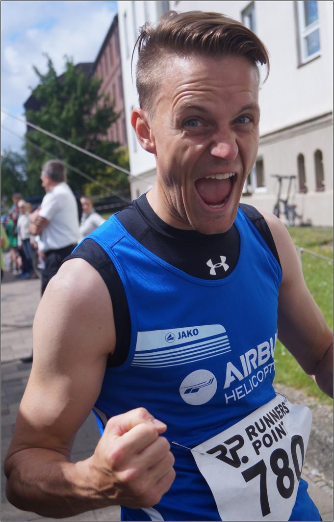 Der Turnschuhheizer ist voll motiviert! Bildquelle: Philipp