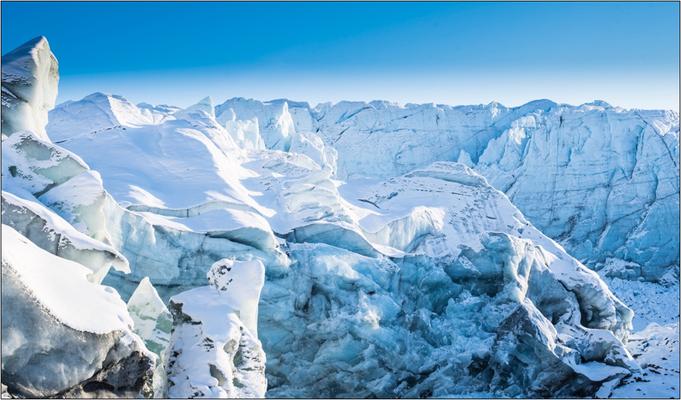 Eindrucksvolle Schnee- und Eislandschaften. Bildquelle: Marathon-Photos.com
