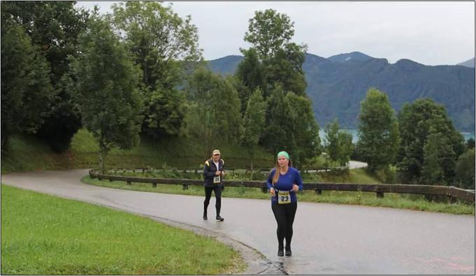 Viktoria bei einer Laufveranstaltung. Bildquelle: Viktoria