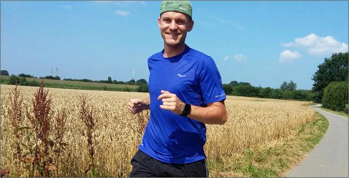 """Der Turnschuhheizer peilt die """"Sub 3"""" beim Marathon an. Bildquelle: Philipp"""