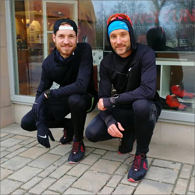 Nach dem Halbmarathon mit dem Runnertune!