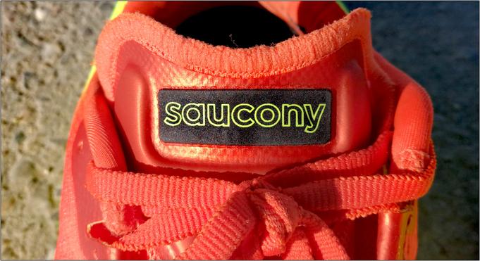 Dieser Saucony ist zweifellos bestzeittauglich.
