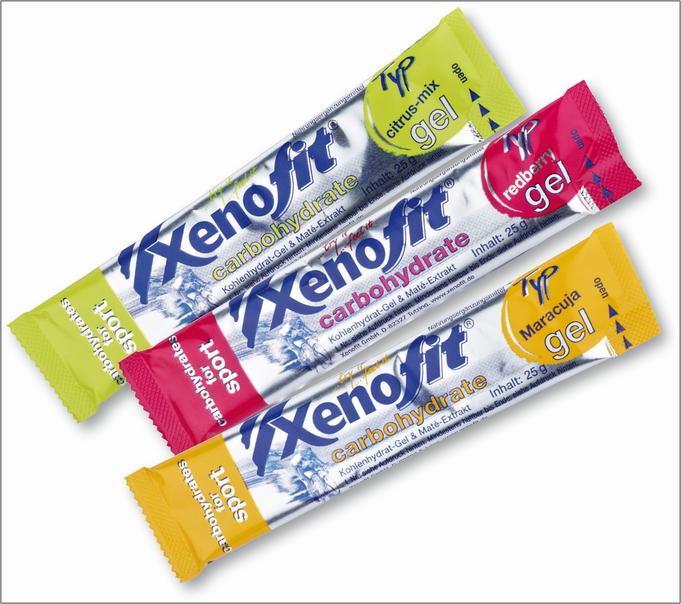 Xenofit carbohydrate gel. Bildquelle: Xenofit