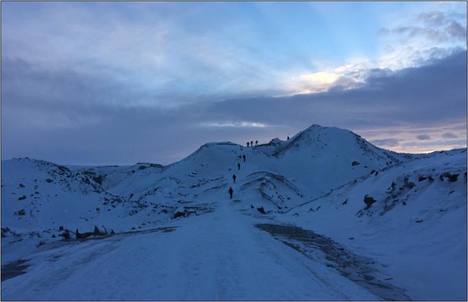 Hoch hinaus ging es beim Polar Circle Marathon. Bildquelle: Sue