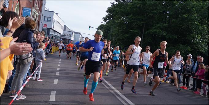 Philipp ganz entspannt bei einer Laufveranstaltung. Bildquelle: Philipp