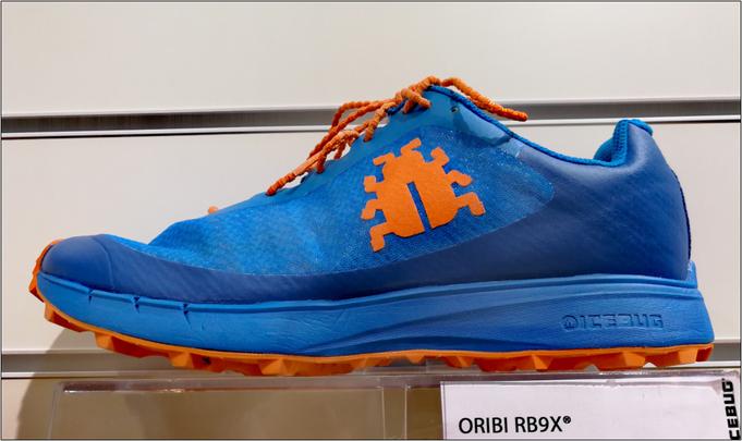 Icebug - 'ORIBI RB9X' inklusive Eiskäfer.