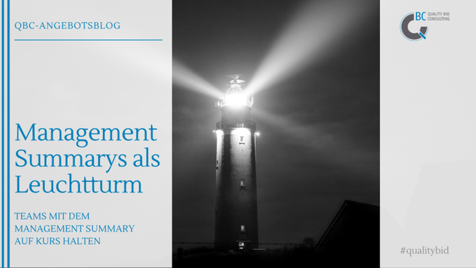 Management Summarys als Leutturm