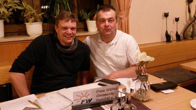 Vorstandssitzung im Januar 2016 in Hesselberg