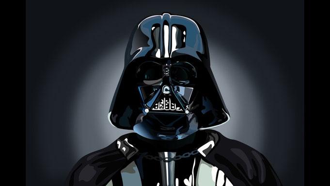 Besorgte sich in kluger Voraussicht früh Corona-Schutzkleidung: Darth Vader.