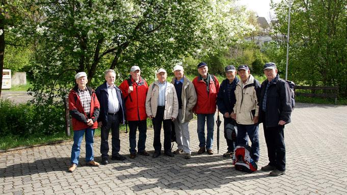 v.l. G. Wenzel, K-H. Schmidt, L. Maiworm, H. Kaufmann, D. Heuer, H. Wacker, H. Engel, G. Schöber, K-H. Kaufmann