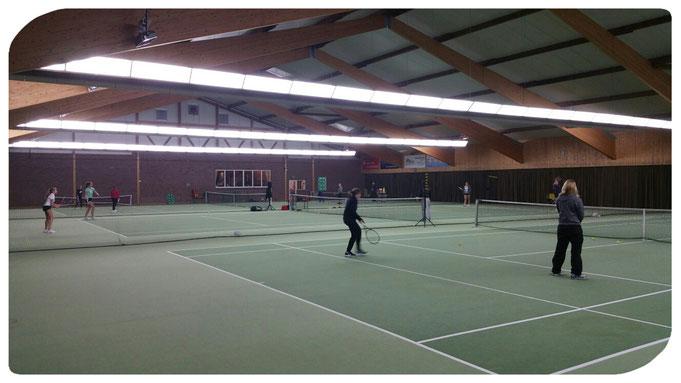 Tennisschule Raffael van Deest Erwachsenen-Training Winterspielclub