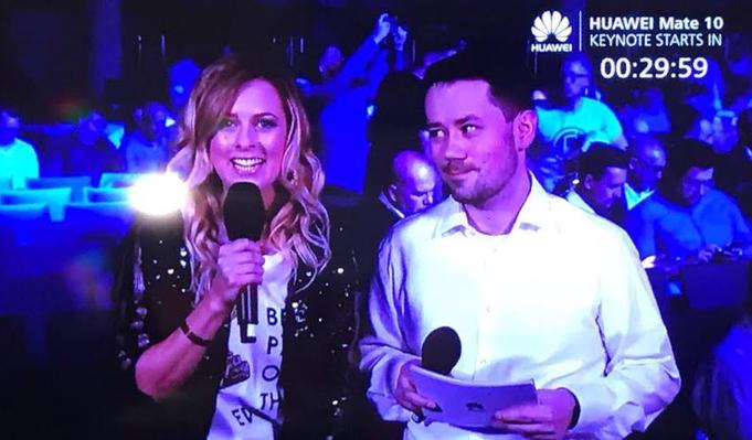 Eventmoderatorin Maxi Sarwas Moderatorin München TV Moderatorin Huawei
