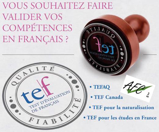 Test d'évaluation de français - Site de afcspm !