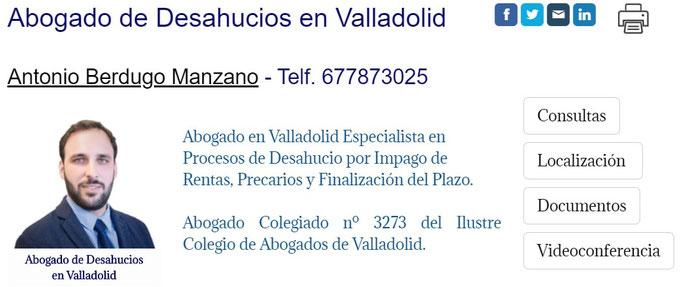 Abogados de Desaucios en Valladollid