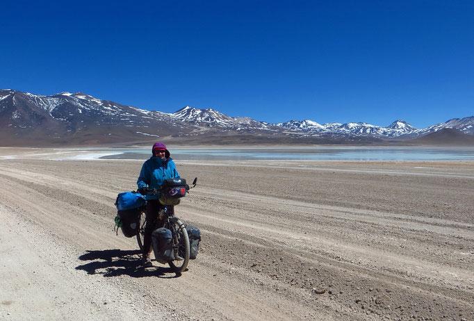 Bis zur chilenischen Grenze sind es noch knapp acht Kilometer.