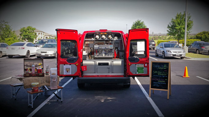 Coffee shop on wheels, pop-up coffee shop, coffee kiosk, coffee bar, coffee truck for sale, espresso bar, outdoor coffee shop, food truck, Atlanta food trucks, Food truck for sale