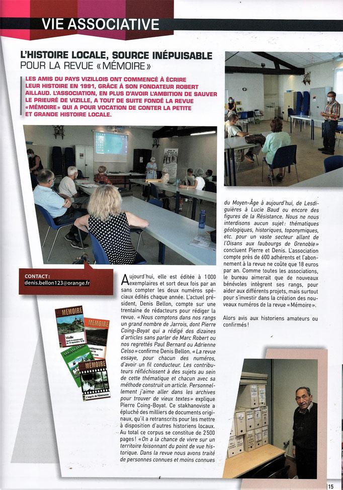 Revue Jarrie-Mag d'octobre 2020