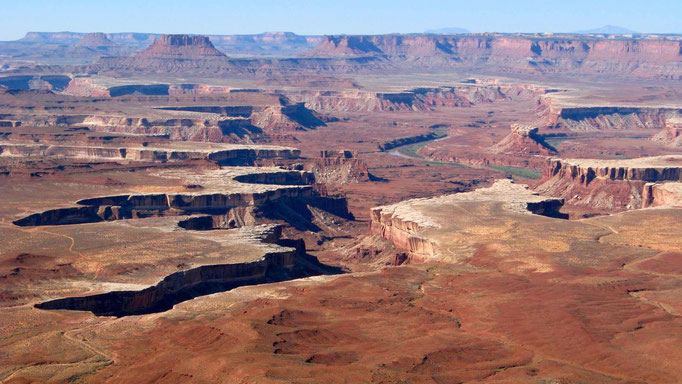 USA: Canyonlands Nationalpark mit Island in the Sky und Needles