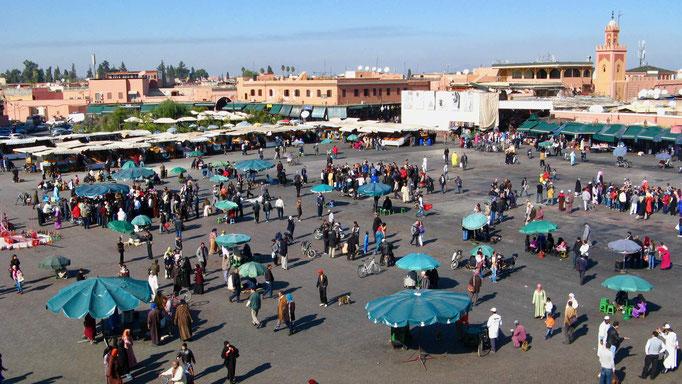 Reisebericht Marrakesch, Marokko. Marrakesch Urlaub: Sehenswürdigkeiten und Geheimtipps