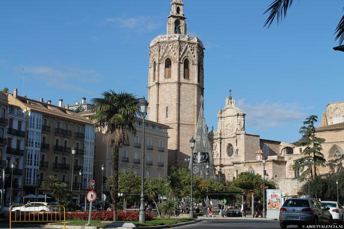 Plaza de la Virgen, Valencia, Pleinen