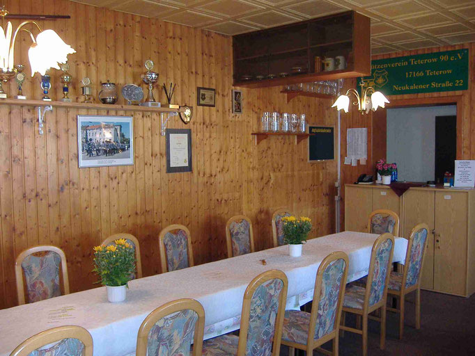 Unser kleines Vereinslokal