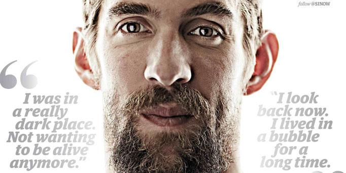 Phelps, mental, champion, dépression, bonheur, réussite, préparation mentale, raphael homat