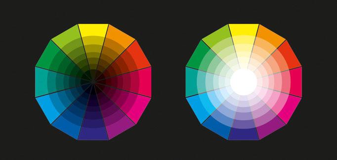 le terre e i colori pastello