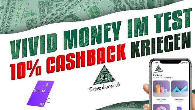 Vivid Money 10% Cashback Schufa