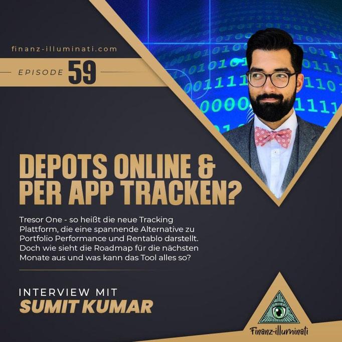 Tresor One Interview mit Sumit Kumar dem Gründer der Tracking App
