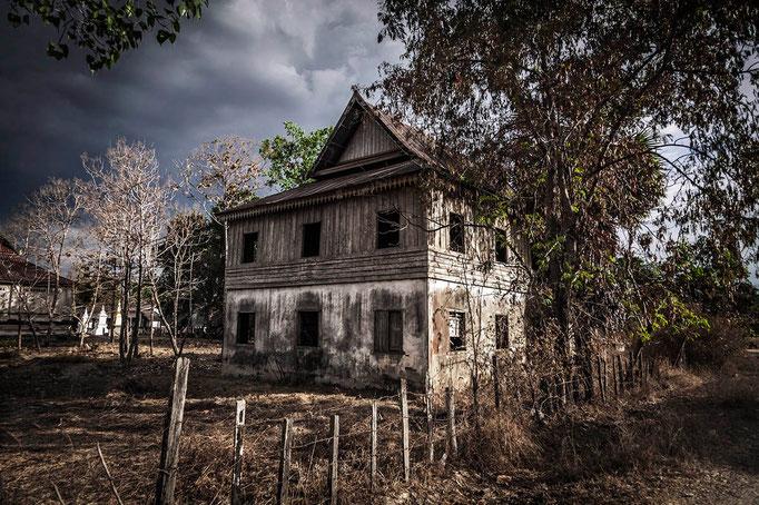 Una casa encantada!! En Don Khong