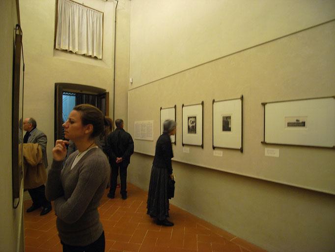 Chimei Hamada exhibition in Uffizi Museum, 2008