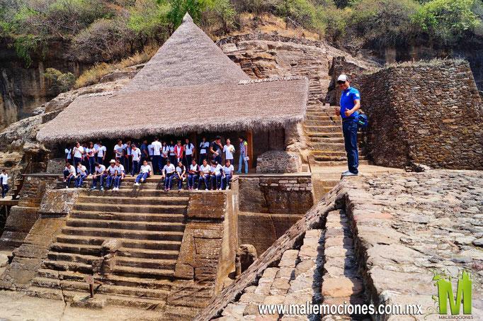 templo monolítico de Malinalco