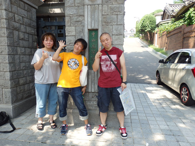 日本で大人気となった韓国ドラマ、冬のソナタのロケ地の学校!ドラマの中でヨン様とユジンが通ってた学校らしい!